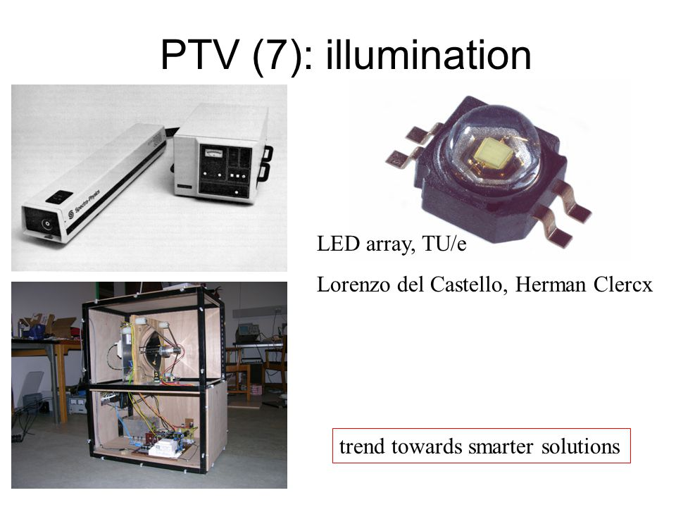 PTV (7): illumination LED array, TU/e