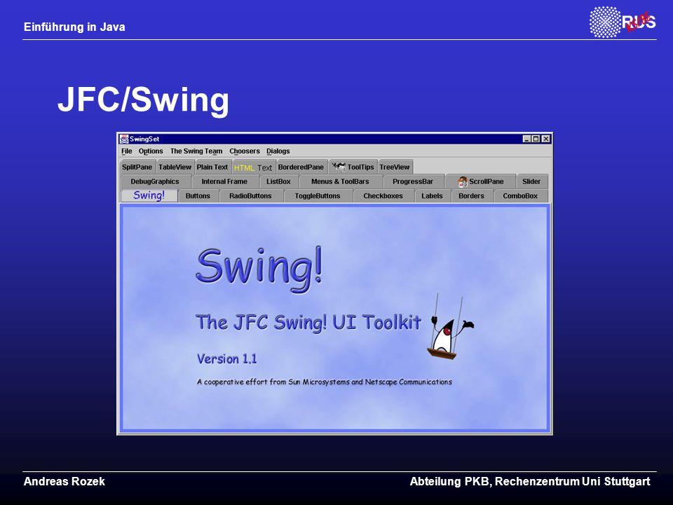 JFC/Swing
