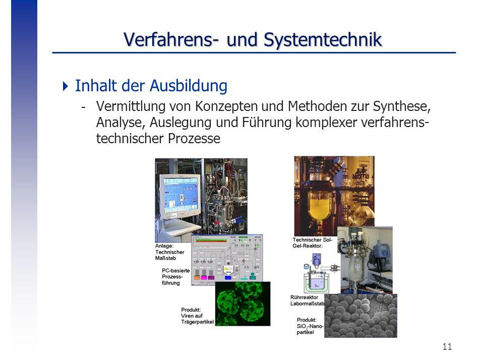 Verfahrens- und Systemtechnik