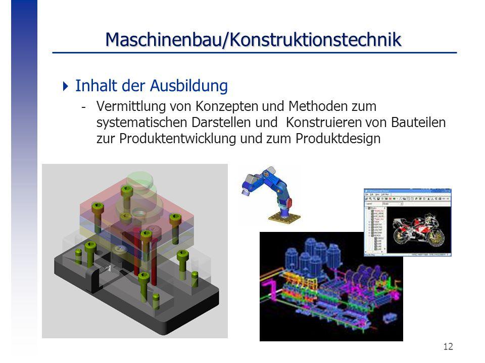 Maschinenbau/Konstruktionstechnik