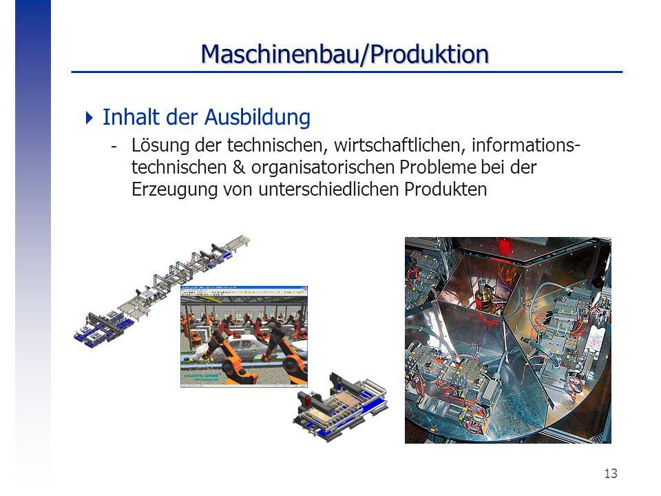 Maschinenbau/Produktion