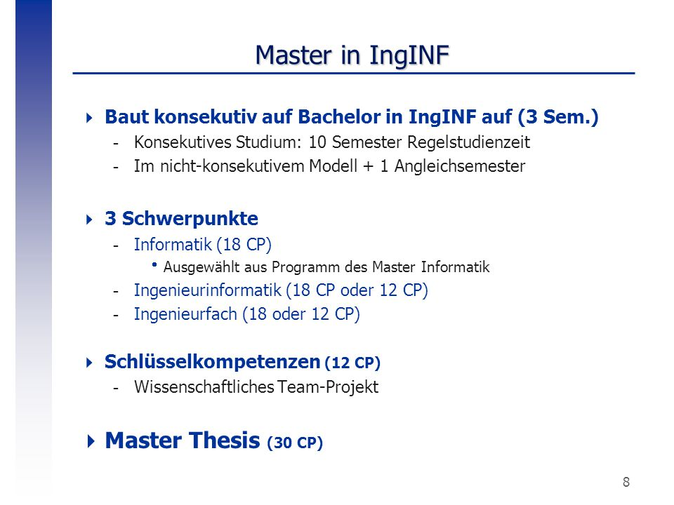 Master in IngINF Master Thesis (30 CP)