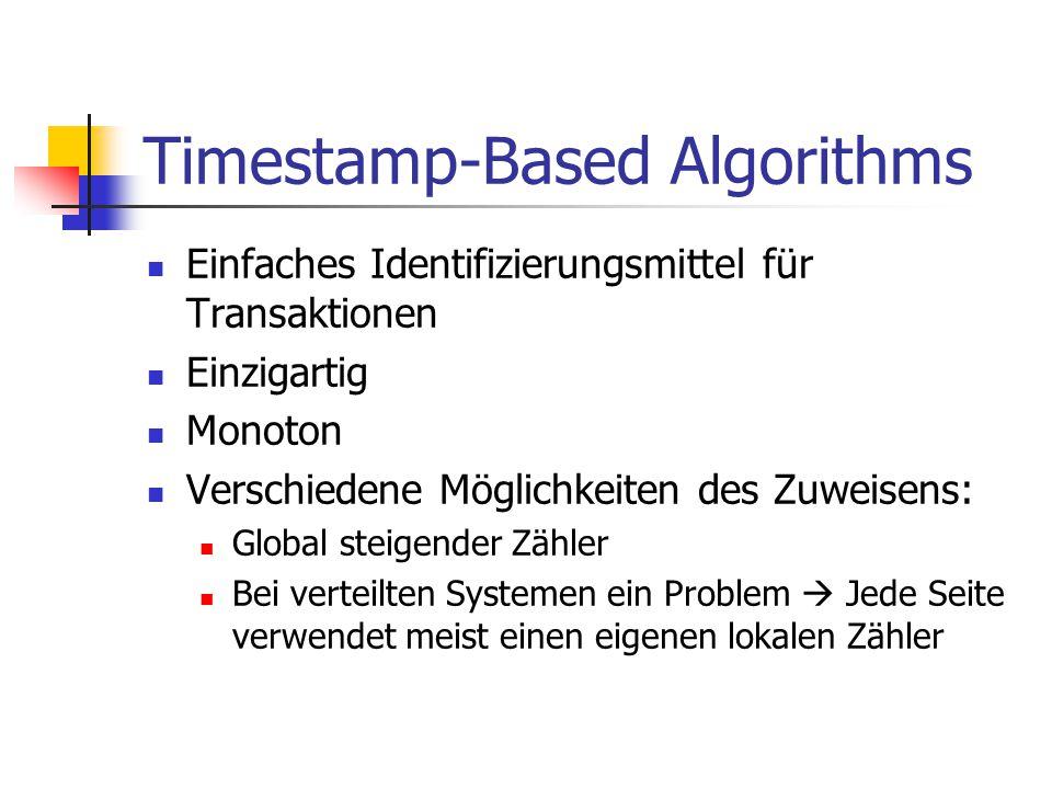 Timestamp-Based Algorithms