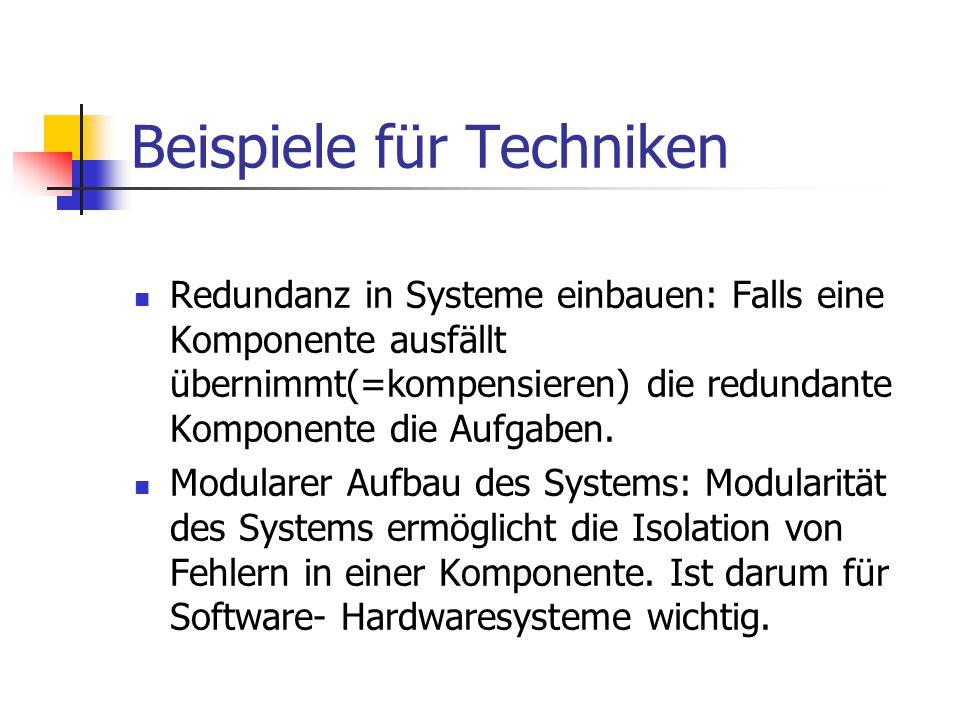 Beispiele für Techniken