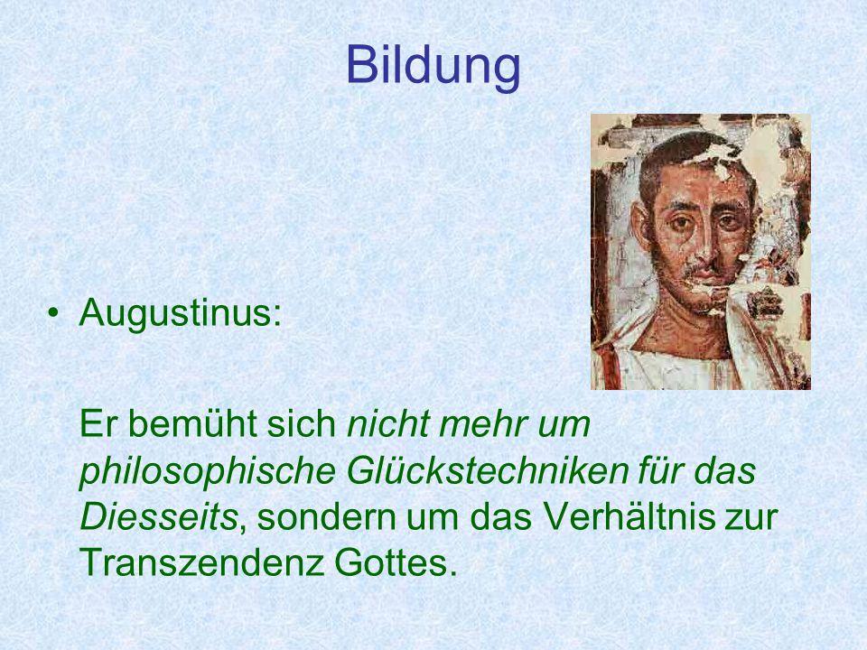 Bildung Augustinus: