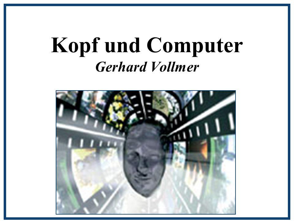 Kopf und Computer Gerhard Vollmer