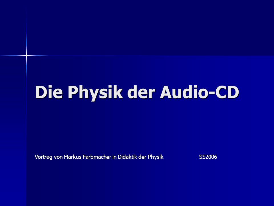 Die Physik der Audio-CD