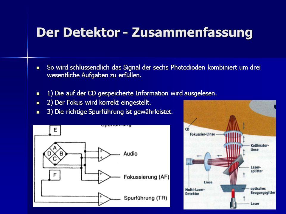 Der Detektor - Zusammenfassung