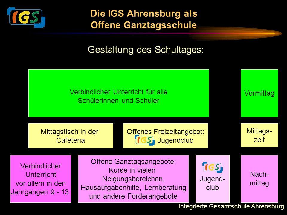 Die IGS Ahrensburg als Offene Ganztagsschule