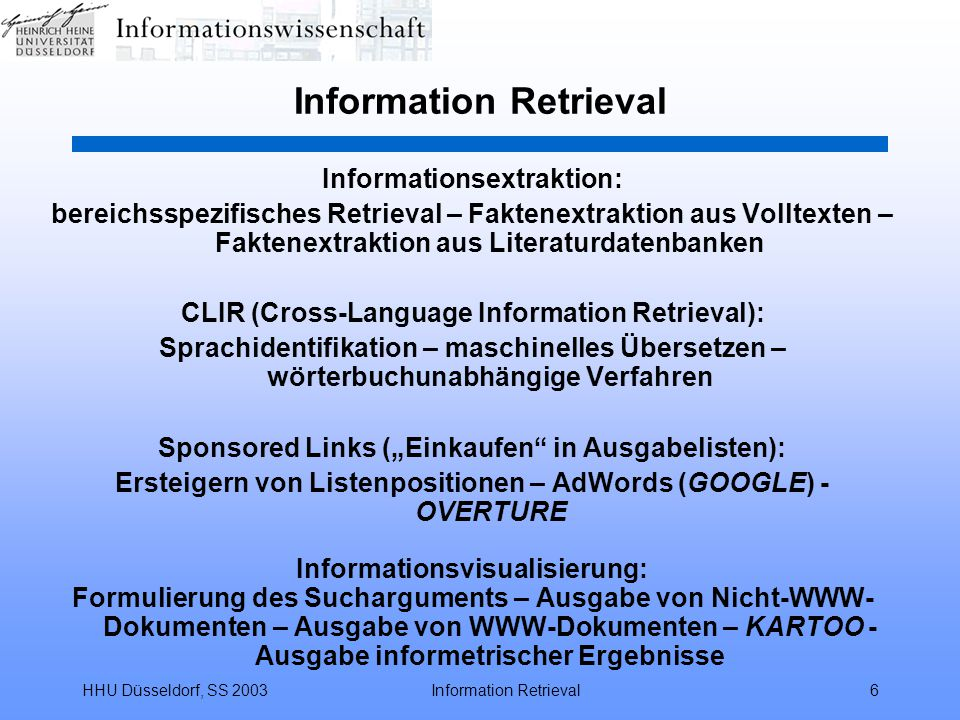 Information Retrieval