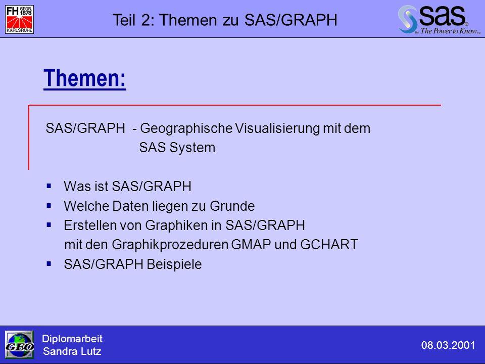 Themen: Teil 2: Themen zu SAS/GRAPH
