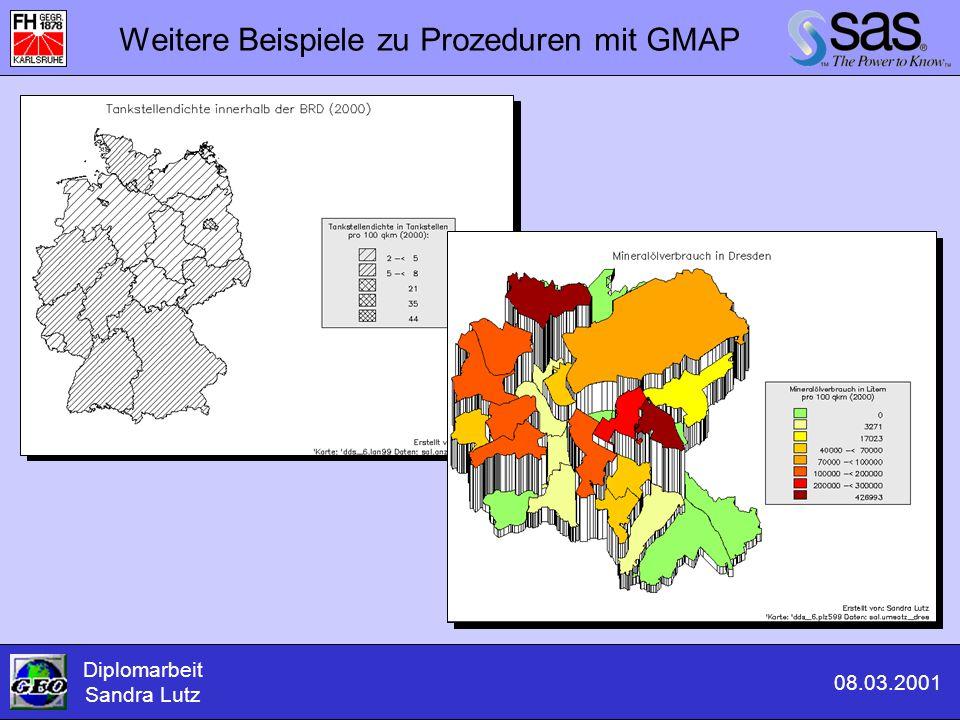 Weitere Beispiele zu Prozeduren mit GMAP