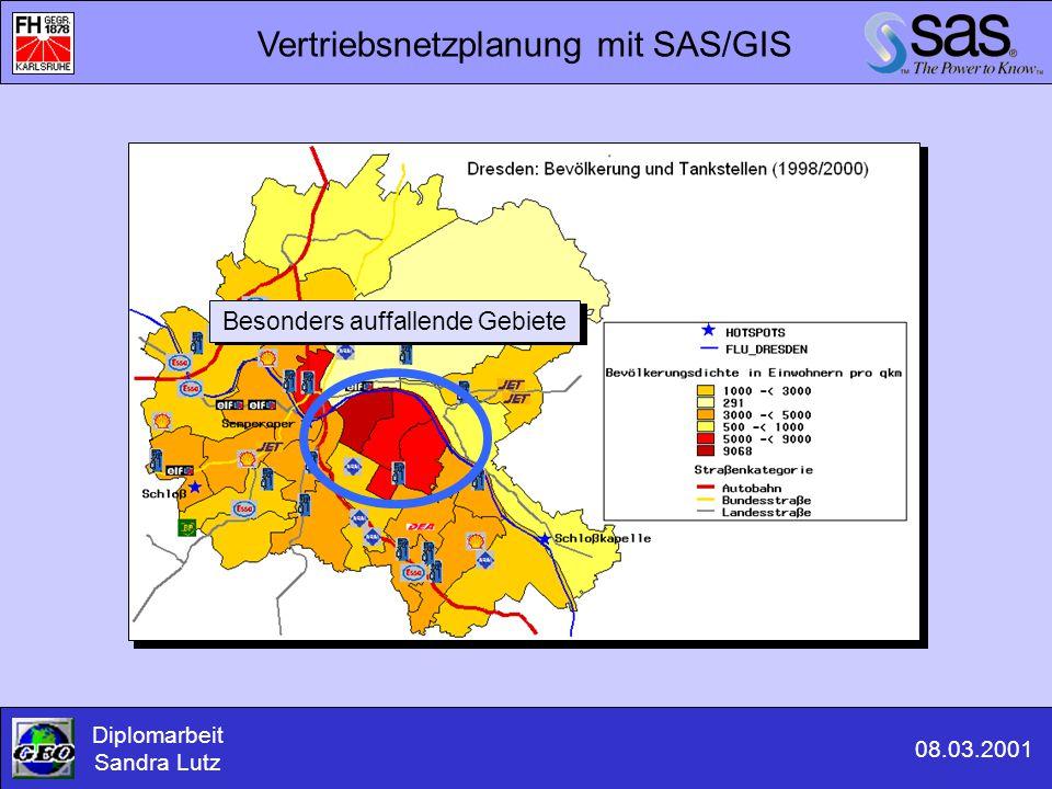 Vertriebsnetzplanung mit SAS/GIS