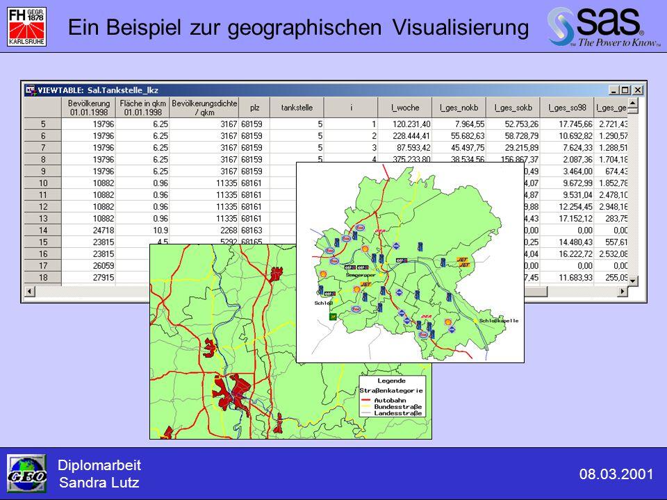 Ein Beispiel zur geographischen Visualisierung