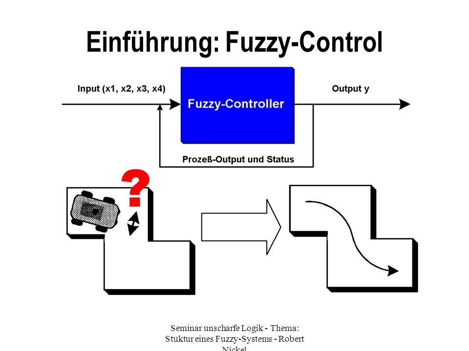 Einführung: Fuzzy-Control