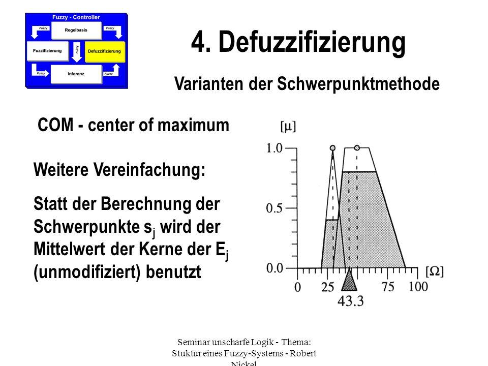 Varianten der Schwerpunktmethode