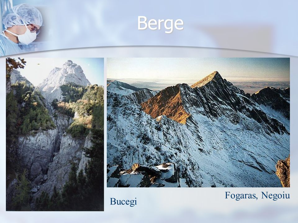 Berge Fogaras, Negoiu Bucegi