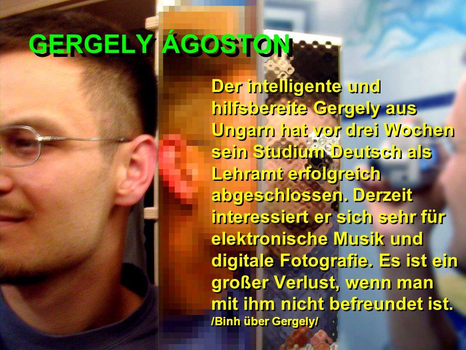 GERGELY ÁGOSTON