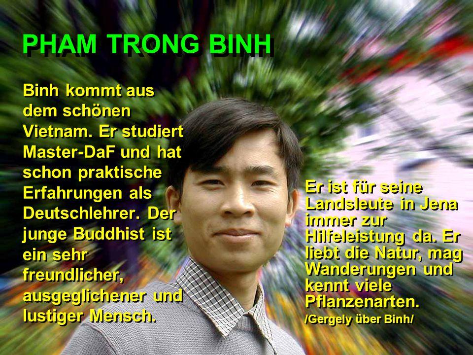 PHAM TRONG BINH