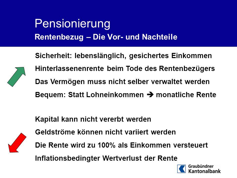 Pensionierung Rentenbezug – Die Vor- und Nachteile