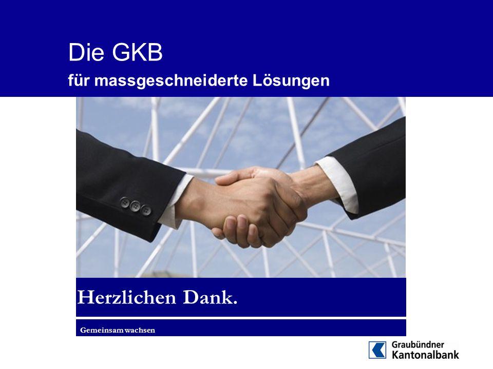Die GKB für massgeschneiderte Lösungen