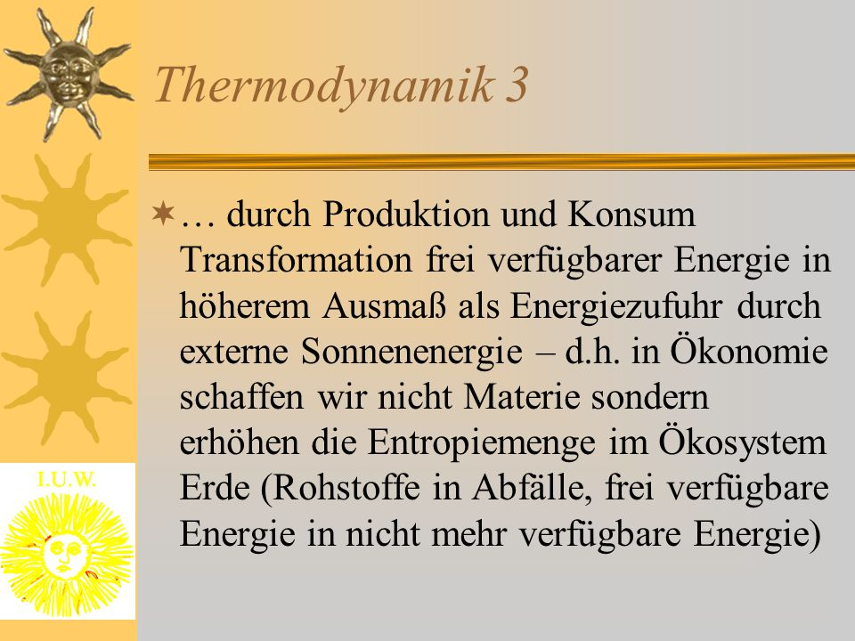 Thermodynamik 3