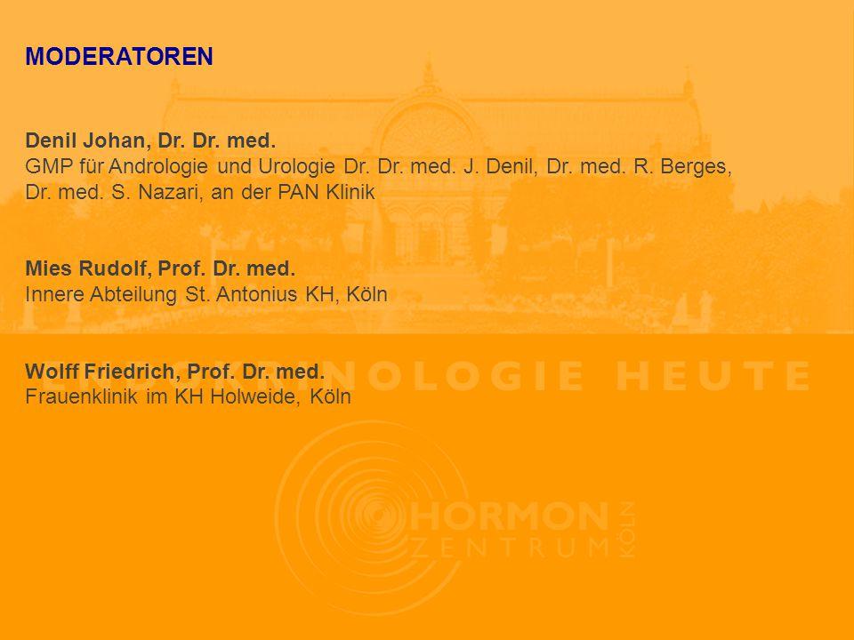 MODERATOREN Denil Johan, Dr. Dr. med.