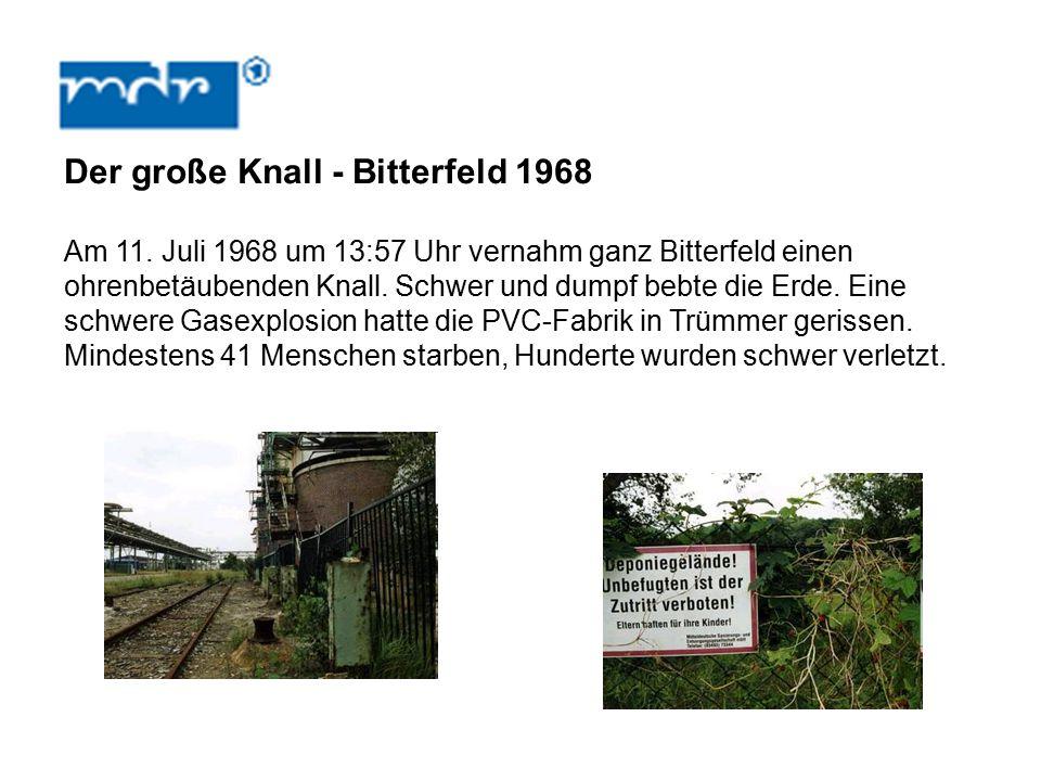 Der große Knall - Bitterfeld 1968