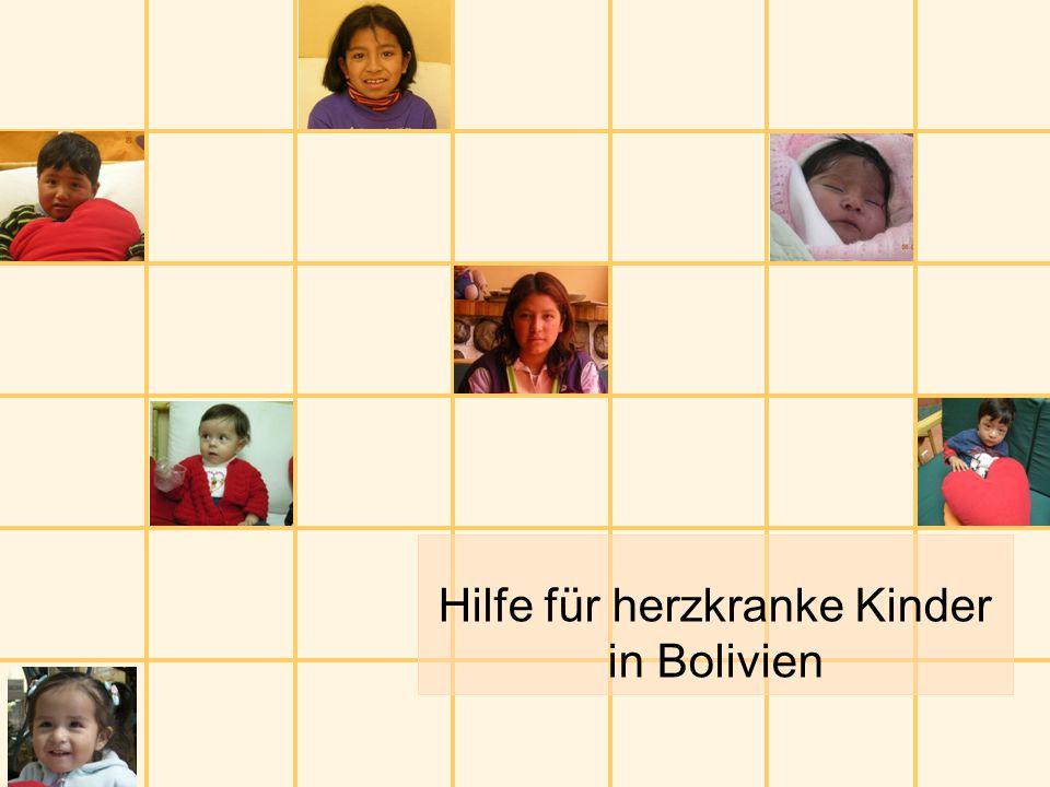 Hilfe für herzkranke Kinder in Bolivien