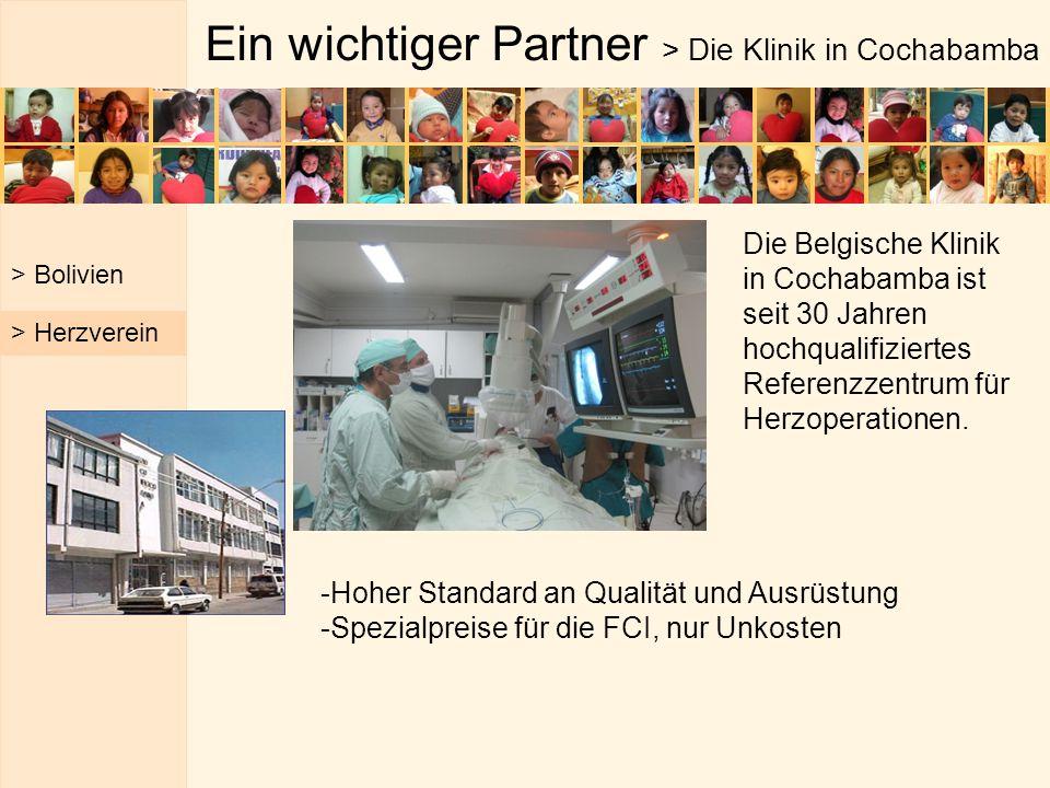 Ein wichtiger Partner > Die Klinik in Cochabamba