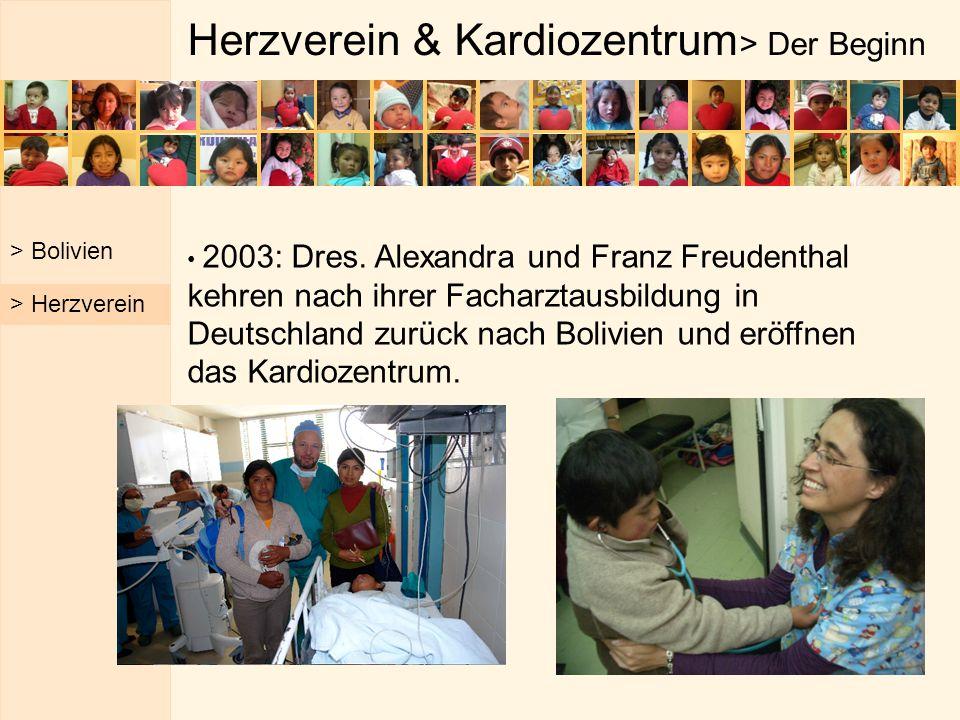 Herzverein & Kardiozentrum> Der Beginn