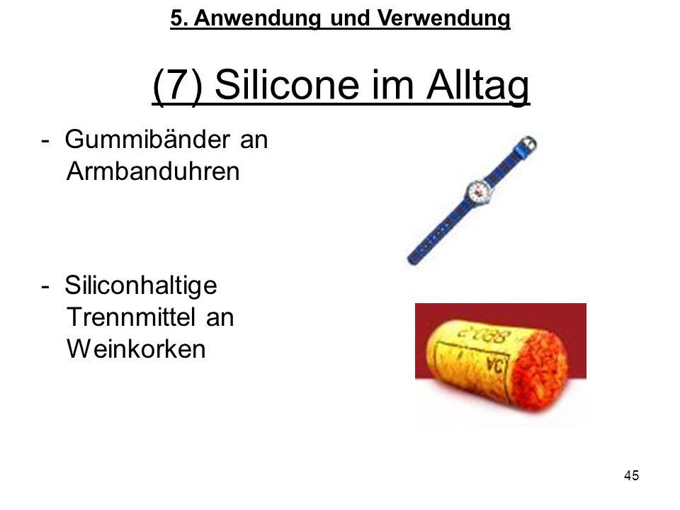 5. Anwendung und Verwendung