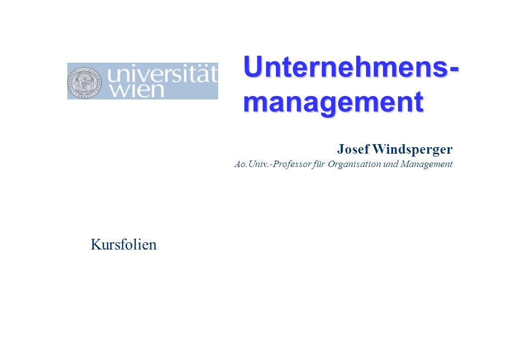 Unternehmens- management