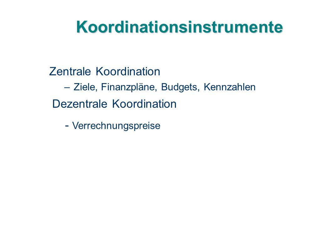 Koordinationsinstrumente