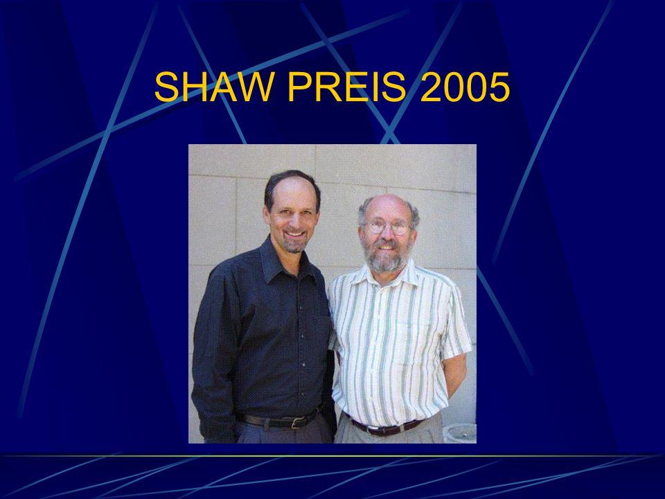 SHAW PREIS 2005
