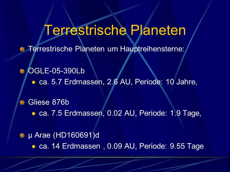 Terrestrische Planeten