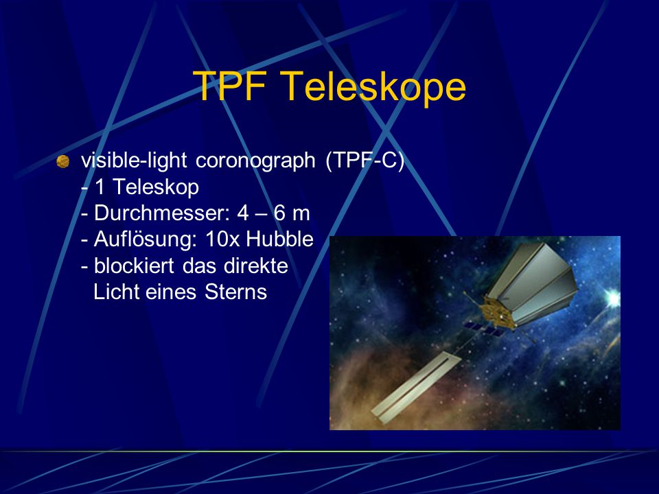 TPF Teleskope