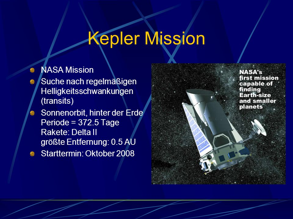 Kepler Mission NASA Mission