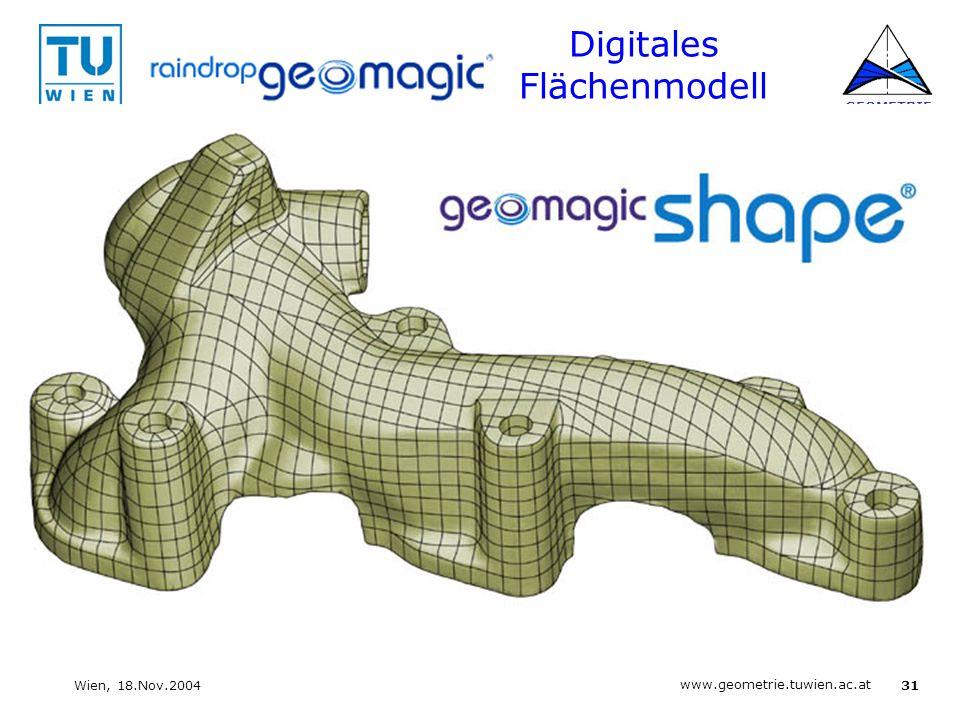 Digitales Flächenmodell