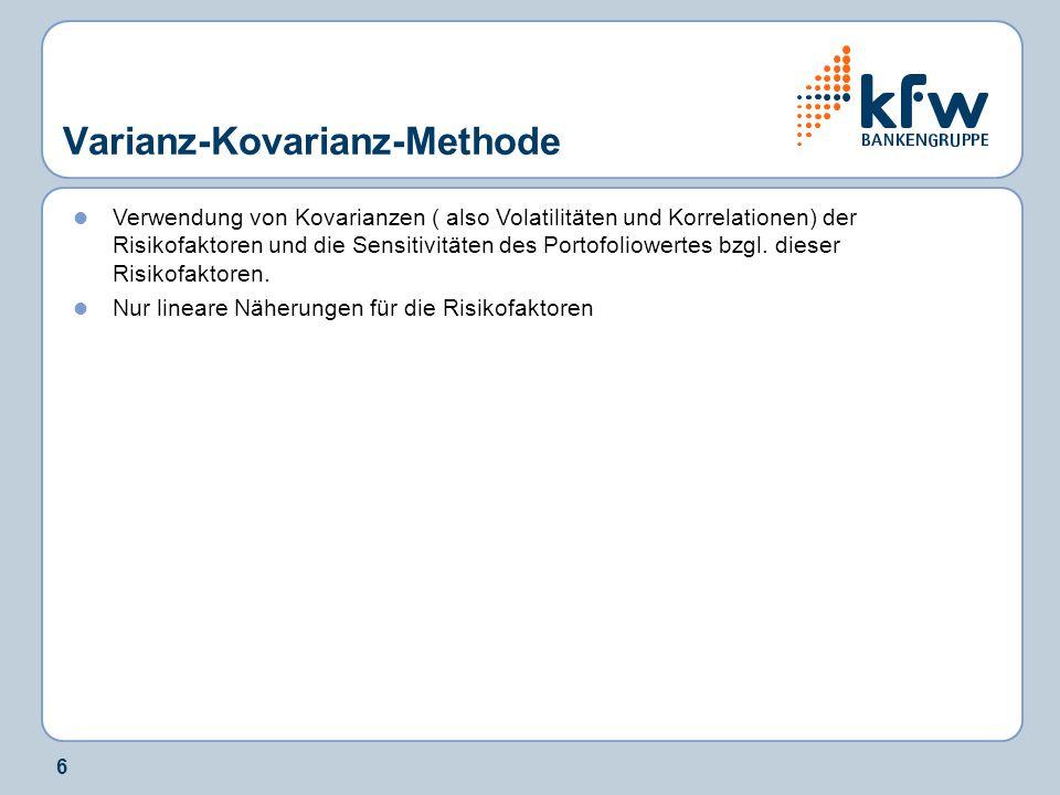 Varianz-Kovarianz-Methode