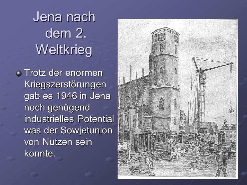 Jena nach dem 2. Weltkrieg