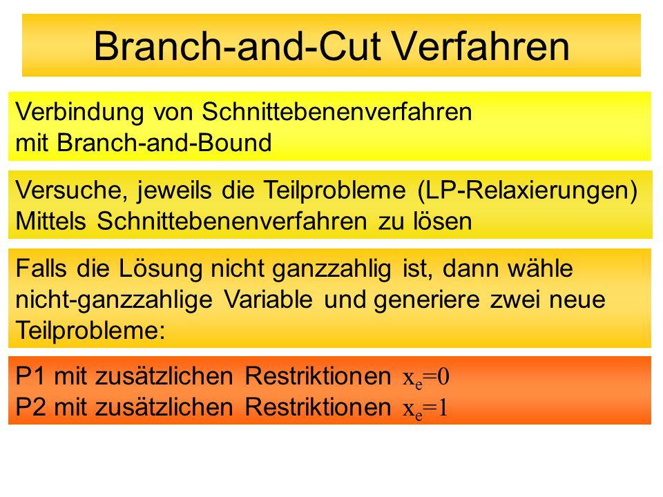 Branch-and-Cut Verfahren