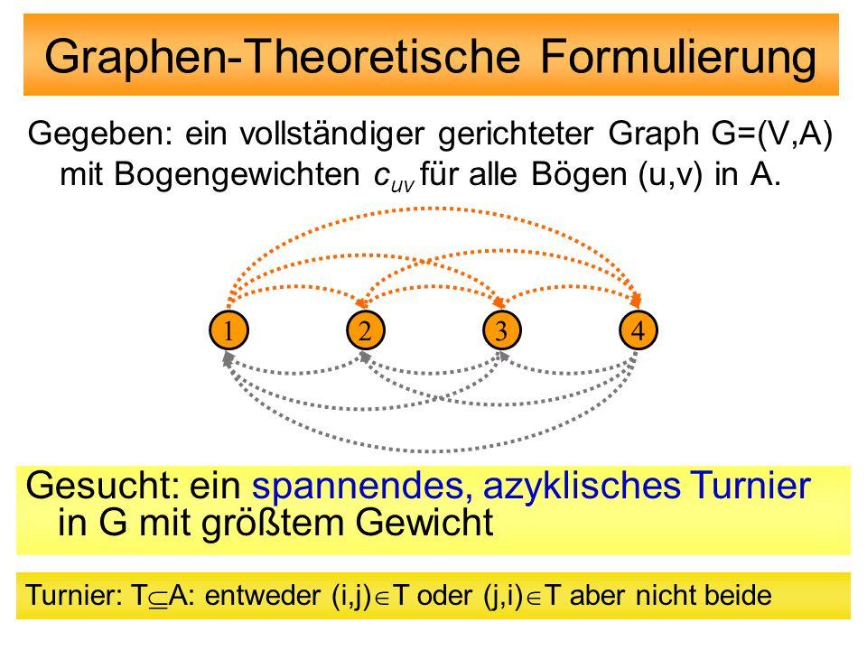 Graphen-Theoretische Formulierung