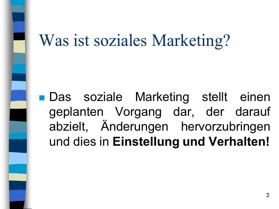 Was ist soziales Marketing