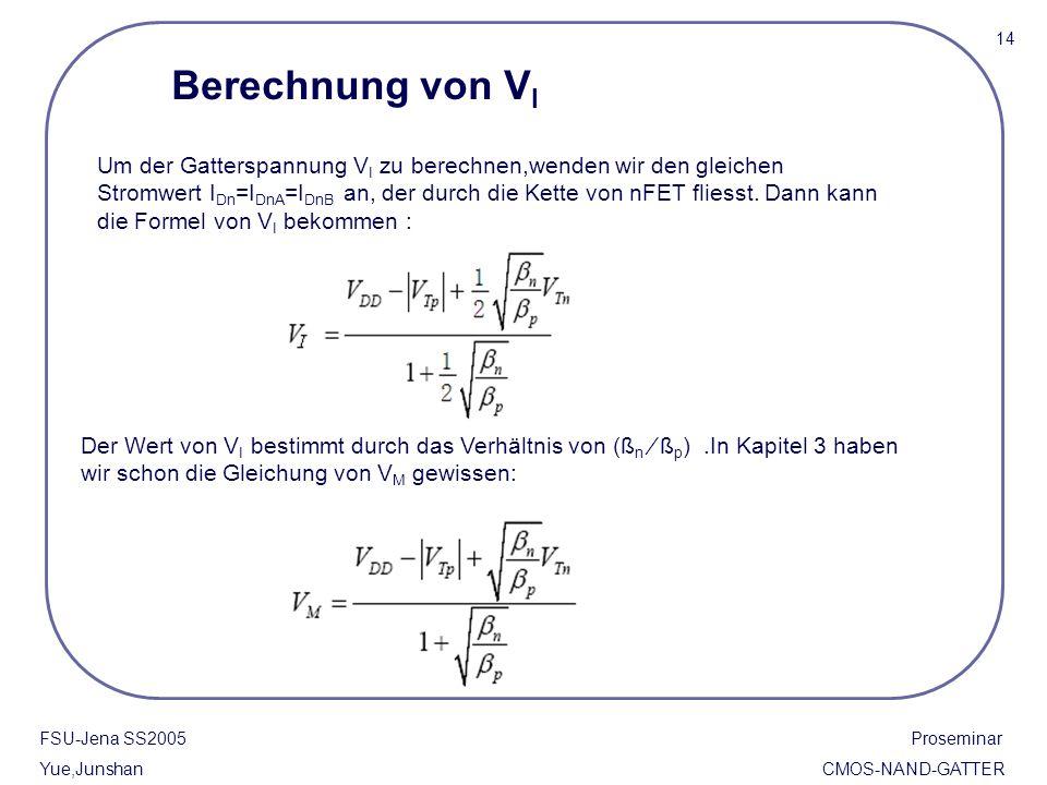 14 Berechnung von VI.