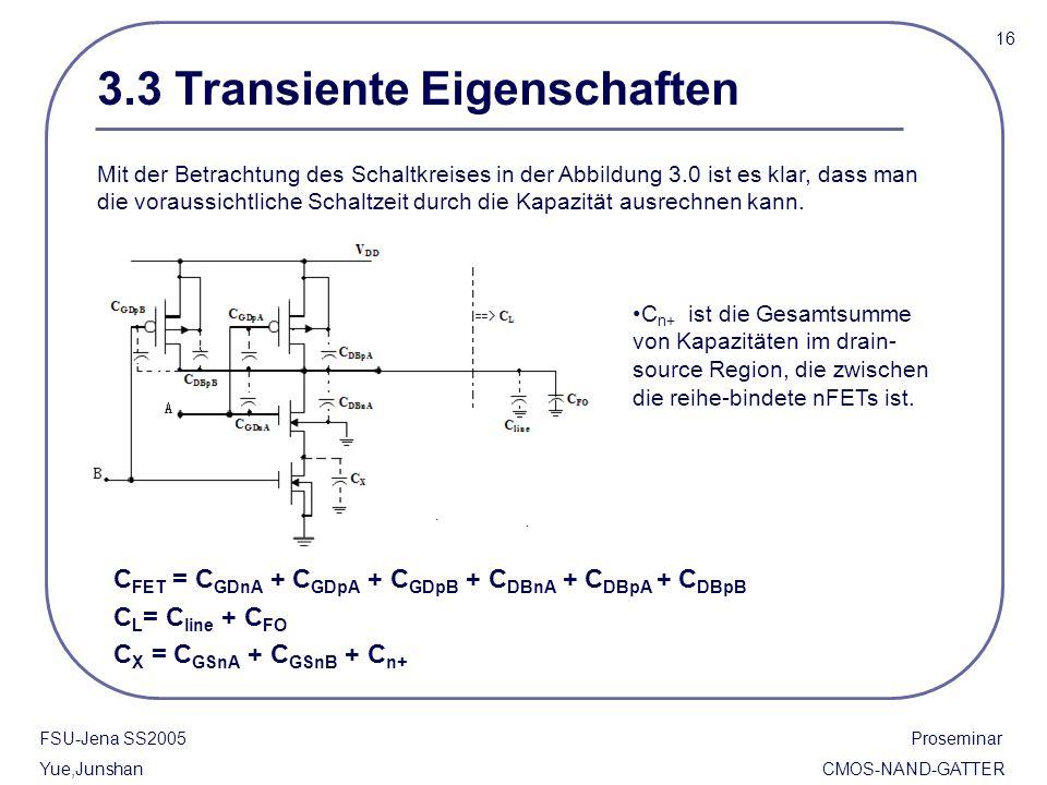 3.3 Transiente Eigenschaften