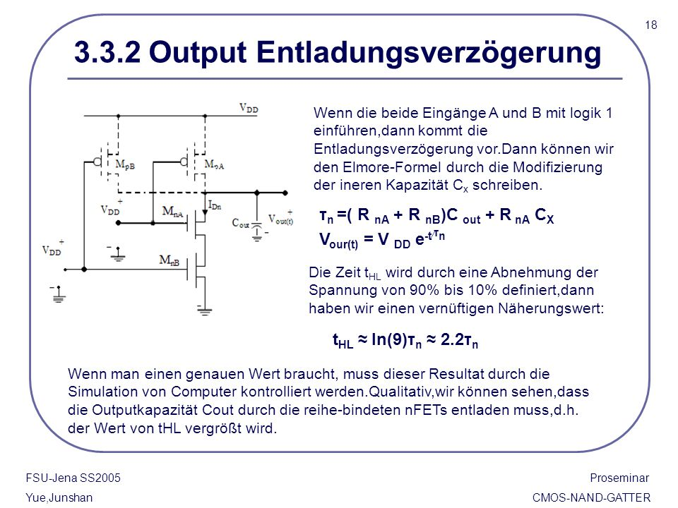 3.3.2 Output Entladungsverzögerung