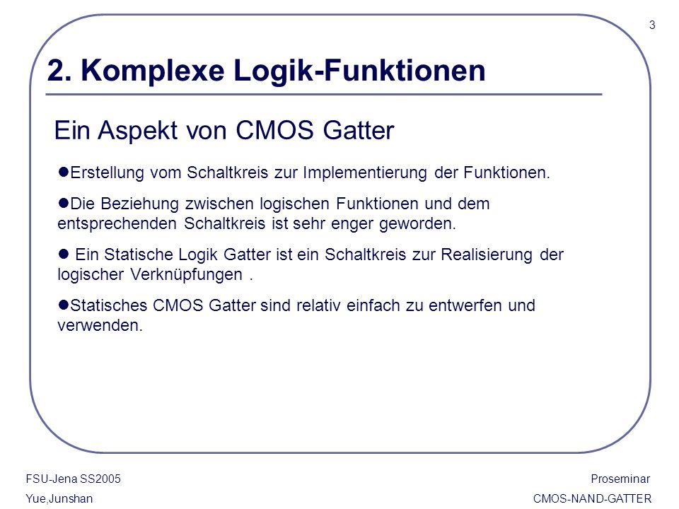 2. Komplexe Logik-Funktionen