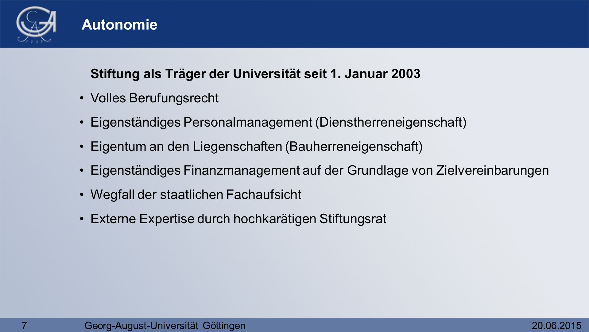 Georg-August-Universität Göttingen