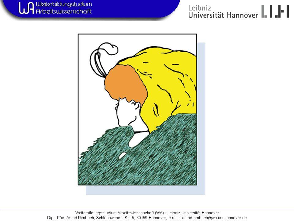 Weiterbildungsstudium Arbeitswissenschaft (WA) - Leibniz Universität Hannover
